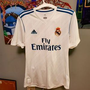 Emirates Real Madrid Jersey
